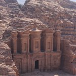Walking the back way from Little Petra to the Temple.
