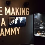 The entrance to the Grammy Exhibit
