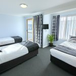 3 Single Beds on Mezzanine in 3 bedroom Deluxe