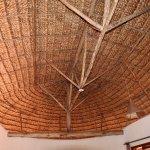 Ceiling of hut