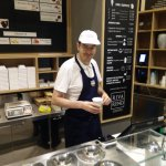 Friendly Staff are eager to share their passion for Gelato