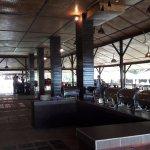 Lobby + dining area