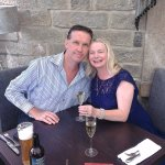 Anne and Alan's 21st Wedding Anniversary staying at the Cavendish Hotel pure timeless elegance.