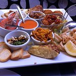 Mixed tapas platter to share