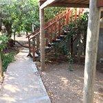 """scala accesso alla sistemazione e """"veranda"""""""