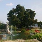 Parque y fuente