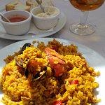 sea ffood rice