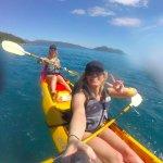 Kayaking to Little Fitzroy