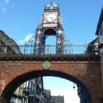 Famous Chester Clock at Eastgate