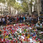 Las Ramblas 2 days after attacks