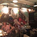 Artsy Wall Murals inside Brickhouse