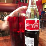 Get a REAL Mexican Coke just like it says on the menu!!!!!