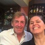 Cinzia with King Kenny