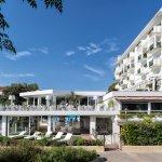 L'Atlantic Hotel, l'area wellness Atlantjde e la Terrazza del Ristorante Green