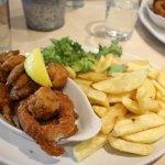 Crispy sea food