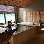 semi-open bath