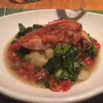 PAN-ROASTED CHICKEN BREAST + OLIVE OIL CRUSHED POTATOES