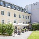 Terrasse Restaurant Salieri und Hotelpark