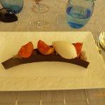 Dessert chocolat abricots et glace vanille : aussi beau que bon!