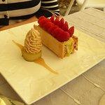 feuilleté fraises, pistaches : un régal !!