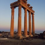 Apollon temple - 15 minutes away from the hotel