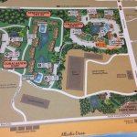 Map of resort area. We were in coral sands north.
