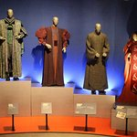 Prequel Trilogy Palpatine costume display