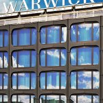 Warwick Geneva new outside facade with triple layer glass including dynamic Windows.