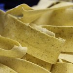 Manor-made fresh pappardelle