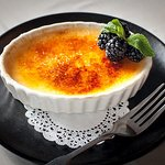 Save room for the special creme brulee of the day