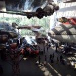 une multitude d'avions ,de fusées et autres objets volants y sont exposées
