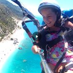 paragliding at Katisma Beach