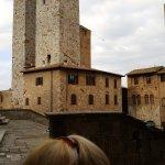 The tower at San Gimignano, Italy
