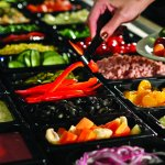From fresh garden-green salads to coleslaw, our buffet lets you create a perfect start to your m