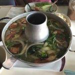 Tom Yum Goong (shrimp).