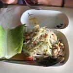Papaya salad.