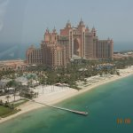 Hotel view from helicopter
