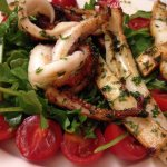 My Amazing Grilled Squid Salad!