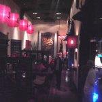 .. the bar ..