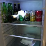 Drink selection in fridge