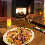 Asian Chicken Salad in Garden Grill and Bar