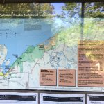 Map of the trails along the Lake Superior shoreline.