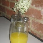 I had a mimosa with brunch.