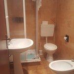 bagno della camera 30 della depandance