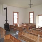 Interior, Friends Meetinghouse