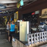 Cool little dive on the intercoastal. Best hamburger in the state.