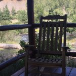 Rocking Chair on the front porch- River View.