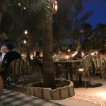 Outdoor dinning at Bella Luna