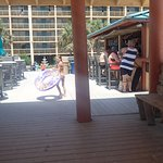 Bar Area out by the Beach/Ocean at the Ramada