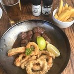 Steak & Calamari